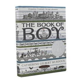 男孩之书 英文原版 The Book of Boy 进口小说 2019纽伯瑞银奖 青少年英语读物 12岁及以上 历史虚构小说 精装毛边书