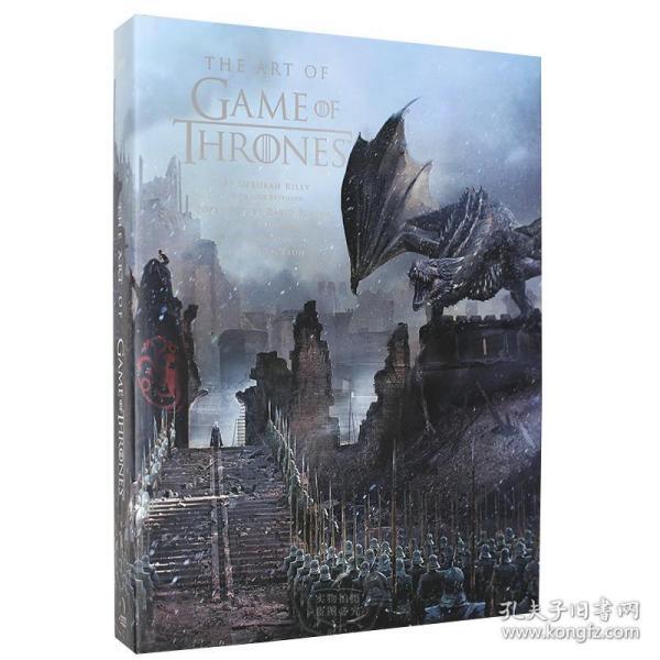 冰与火之歌权力的游戏 官方影视艺术设定集 英文原版 The Art of Game of Thrones HBO热门美剧幕后制作 概念 设计 精装全彩大开本