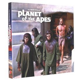 人猿星球 50周年纪念版画册 电影艺术设定集 英文原版 The Making of Planet of the Apes 原画手稿 概念制作 幕后 精装全彩大开本