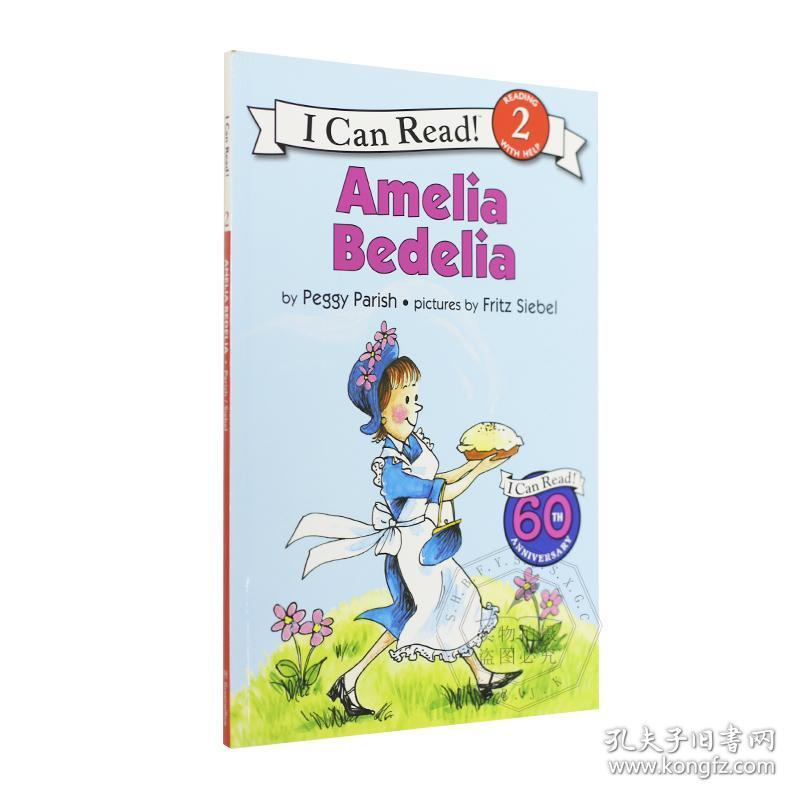I Can Read 阶段2 儿童英语绘本 Amelia Bedelia 糊涂女佣 英文原版 汪培珽推荐 4-8岁英语学习读物 进口书籍 平装