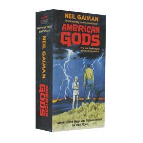 美国众神 英文原版 American Gods 十周年纪念版 进口小说 热门美剧原著 Neil Gaiman 尼尔盖曼 奇幻 幻想文学 平装 Paperbak