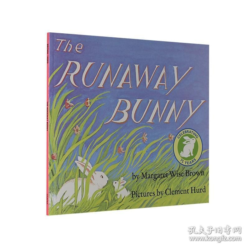 The Runaway Bunny 逃家小兔 英文原版绘本 廖彩杏书单 进口童书 名家作品 2-8岁阅读启蒙 亲子互动故事书 平装