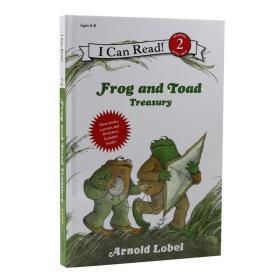 I Can Read Frog and Toad Treasury 英文原版 青蛙与蟾蜍3个故事合集 英语儿童绘本 分级读物 Level 2 进口童书 硬封面