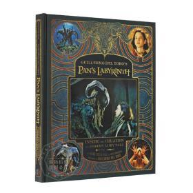 潘神的迷宫 电影艺术画册设定集 英文原版 Guillermo del Toro's Pan's Labyrinth 进口书 原画 道具 设定概念图 精装全彩大开本