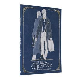 神奇动物在哪里2 格林德沃之罪 着色书 英文原版 Fantastic Beasts The Crimes of Grindelwald Coloring Book 进口艺术画册 减压