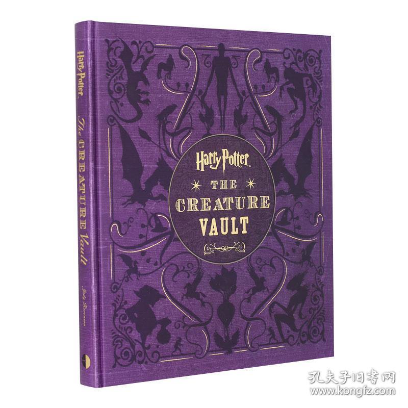 哈利波特 神奇生物宝库 艺术设定集 英文原版 Harry Potter: The Creature Vault 植物与动物集 手稿 模型设计 电影周边 精装 全彩