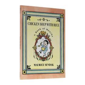 鸡汤米饭 英文原版童书 Chicken Soup with Rice 进口绘本 Maurice Sendak 4-8岁儿童英语启蒙故事书 平装 Paperback