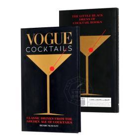 时尚鸡尾酒 英文原版 鸡尾酒黄金时代的经典饮品 Vogue Cocktails Classic drinks from the golden age of cocktails 精装 进口书