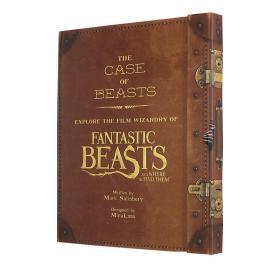 神奇动物在哪里档案设定集 豪华收藏版 英文原版 The Case of Beasts 哈利波特衍生 JK罗琳 电影彩蛋 动物细节 进口书 全彩大开本