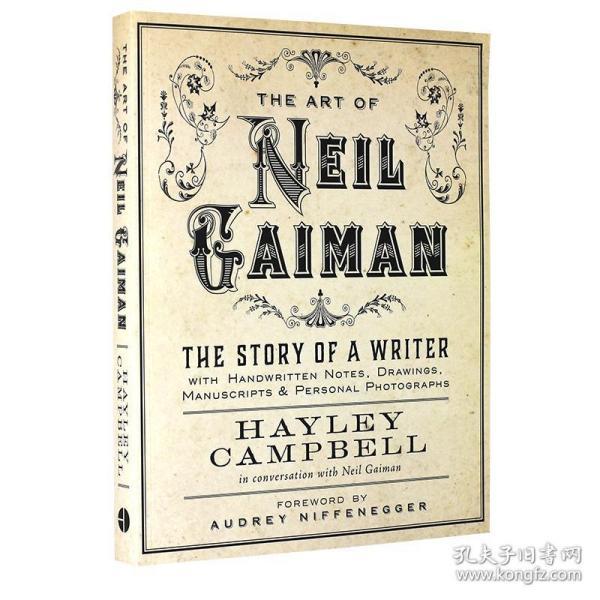 尼尔盖曼的艺术 英文原版 The Art of Neil Gaiman 手写笔记 图纸 手稿 个人照片 Harper Design出品 Hayley Campbell 进口书 平装