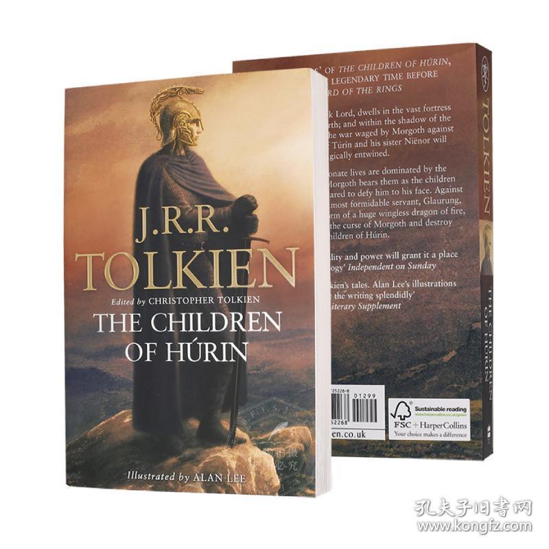 指环王魔戒前传 英文原版小说 Children Of Hurin 胡林的儿女 JRR Tolkien 托尔金遗作 奇幻小说 进口图书 平装
