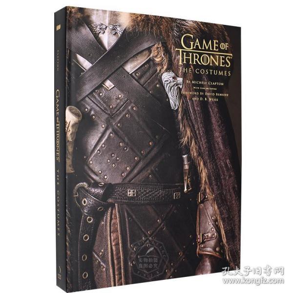 冰与火之歌权力的游戏 影视服装服饰艺术设定集 英文原版 Game of Thrones: The Costumes HBO热门美剧 官方设计画册 精装大开本