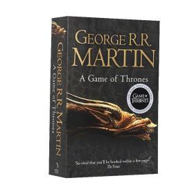 权力的游戏 冰与火之歌1 英文原版 A Game of Thrones - A Song of Ice and Fire 1 美剧小说 乔治马丁 George Martin 英版 平装