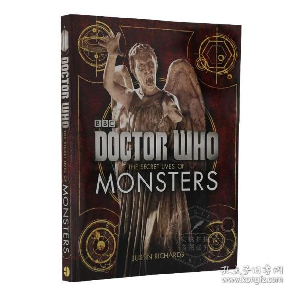 神秘博士 Doctor Who: The Secret Lives of Monsters 英文原版 怪物外星生物档案 BBC科幻剧集 时空旅行 全彩图文 进口画册 平装