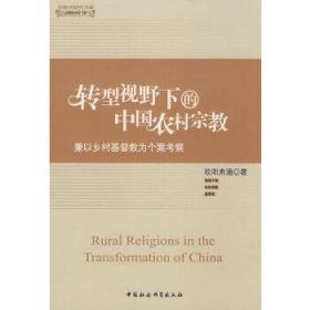 转型视野下的中国农村宗教(宗教学研究文库) 欧阳肃通 著 9787500473350 中国社会科学出版社 正版图书