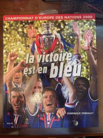 2000欧洲杯足球画册 法国原版世界杯画册 world cup赛后特刊 包邮