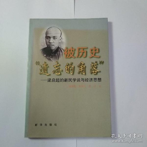 被历史遗忘的角落:梁启超的新民学说与经济思想