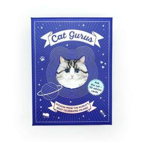 全新正版现货 英文原版 盒装 Cat Gurus: Wisdom from the World's Most Celebrated Felines 猫王:世界上最著名的猫王的智慧