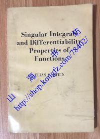 Singular Integrals and Differentiability Properties of Functions