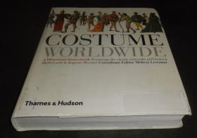 2手英文 Costume Worldwide: A Historical Sourcebook 服装 sed88