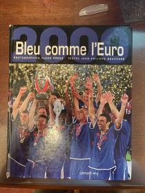 2000欧洲杯足球画册 法国levy原版世界杯欧洲杯画册 euro赛后特刊包邮快递