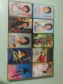 靳小才,朱逢博,殷秀梅,关牧春,等10盘怀旧老磁带,包邮