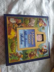 3-Minute Stories: Bedtime Tales 英文原版绘本故事书 全彩精装