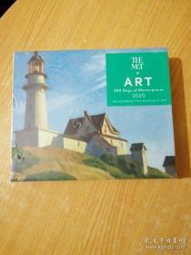 Art: 365 Days of Masterpieces 2020 Desk Calendar(未拆封)