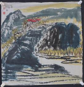 周瑞文山水国画二