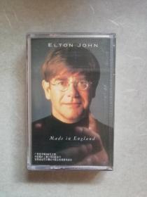 磁带; 埃尔顿、约翰。英国制造