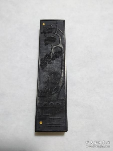 1984年上海墨厂老墨块  一两