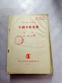 Q010170 中国少数民族1993/6含重视少数民族经济的研究/现阶段新疆少数民族人口增长的政策动因/试探朝鲜族的伦理思想等