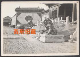 五十年代初,北京古建筑老照片