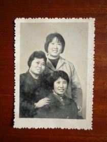 八十年代初 三人去乌鲁木齐学习合影