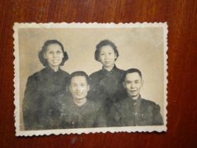 50年代照片(大襟衣服 中山装)