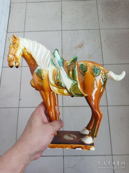 马—90年代洛阳市美术陶瓷厂精品