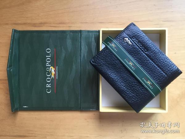 香港鳄鱼 短款钱包 男驾照证青年男士商务 真皮钱夹牛皮横款