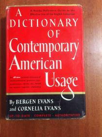 美国原装进口 A Dictionary of Conitemporary American Usage