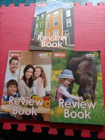【美国小学在家上】VIPKID Review Book Leve 4-6、7-9、10-12)  3册合售