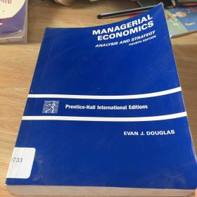 managerial economics  analysis and strategy fourth edition