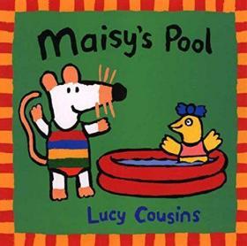现货 小鼠波波的游泳池 幼儿英语启蒙绘本 英文原版 Maisy's Pool 2-5岁 进口童书 Lucy Cousins 亲子阅读睡前卡通故事书