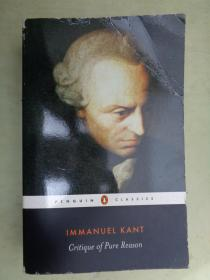 IMMANUEL KANT    Critique of Pure Reason(英文原版)