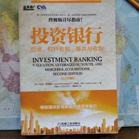 投资银行:估值、杠杆收购、兼并与收购(原书第2版)