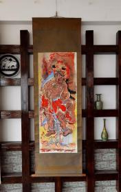 台湾文物馆长,画家,张木养