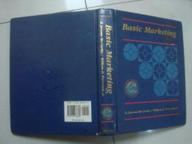 basic marketing a managerial approach 基本营销:一种管理方法.内有彩色涂划
