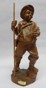 德国手工木雕《渔夫》
