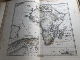 1877年非洲地图