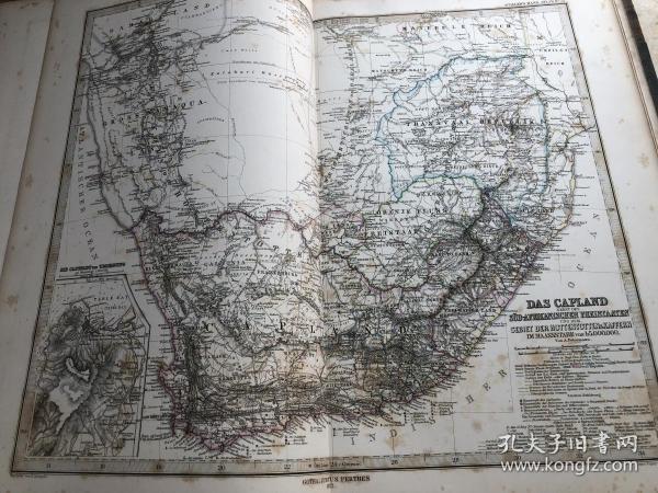 1877年南非地图