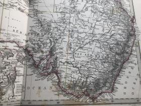 1877年澳大利亚地图