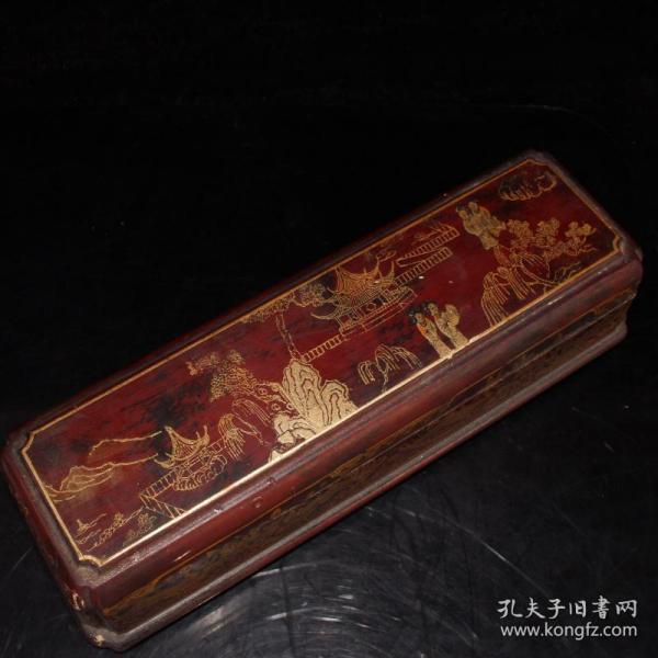 漆皮盒十二生肖一套 做工精细